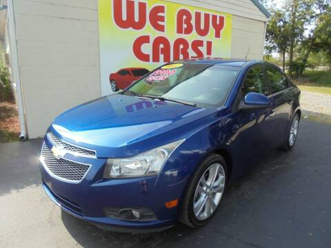 2012 Chevrolet Cruze for sale at Right Price Auto Sales in Murfreesboro TN
