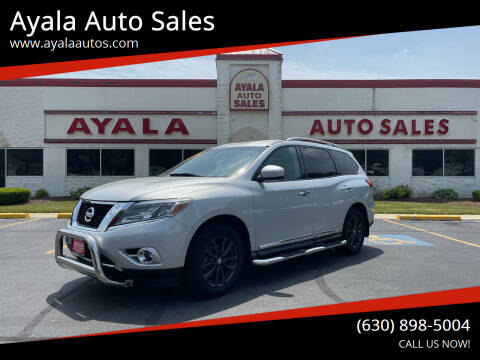 2013 Nissan Pathfinder for sale at Ayala Auto Sales in Aurora IL