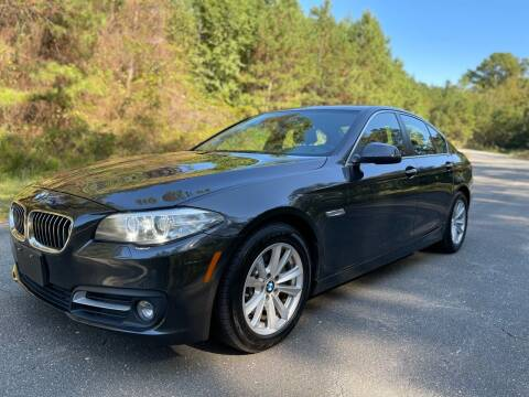 2015 BMW 5 Series for sale at Carrera AutoHaus Inc in Clayton NC