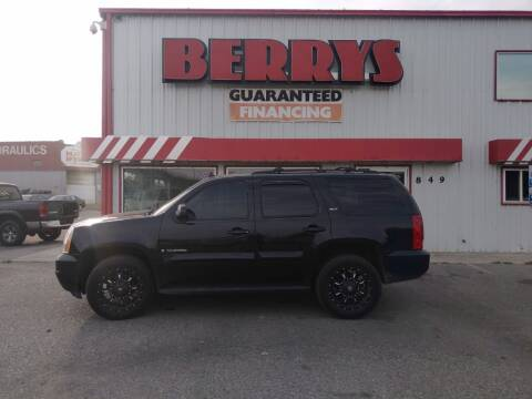 2008 GMC Yukon for sale at Berry's Cherries Auto in Billings MT