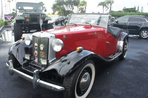 1952 MG TD for sale at Dream Machines USA in Lantana FL