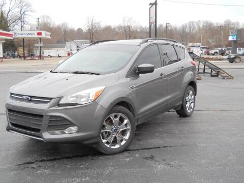 2014 Ford Escape for sale at BARKER AUTO EXCHANGE in Spencer IN
