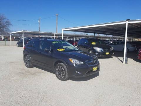 2013 Subaru XV Crosstrek for sale at Bostick's Auto & Truck Sales in Brownwood TX