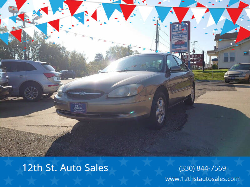 2002 Ford Taurus for sale at 12th St. Auto Sales in Canton OH