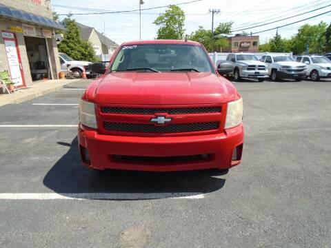 2007 Chevrolet Silverado 1500 for sale at Gemini Auto Sales in Providence RI