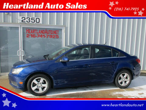 2013 Chevrolet Cruze for sale at Heartland Auto Sales in Medina OH