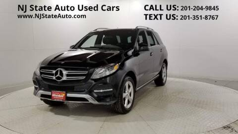 2017 Mercedes-Benz GLE for sale at NJ State Auto Auction in Jersey City NJ
