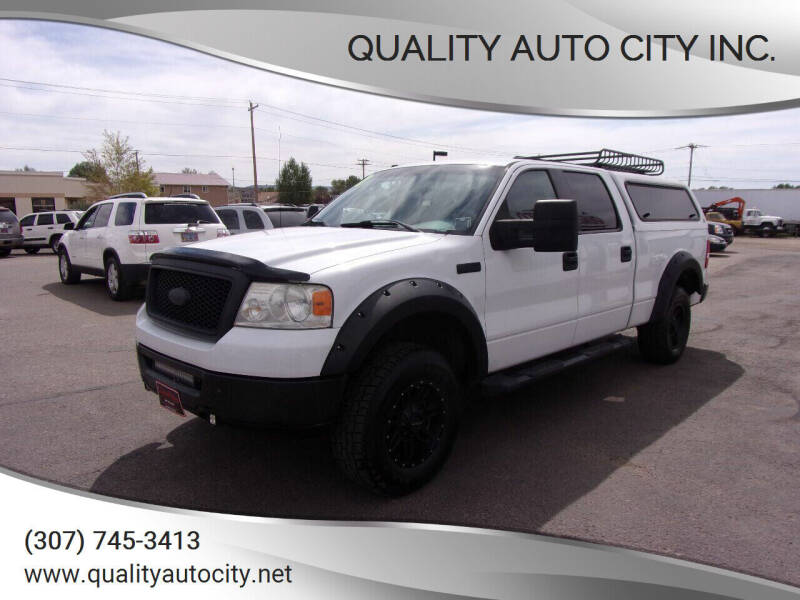 2007 Ford F-150 for sale at Quality Auto City Inc. in Laramie WY