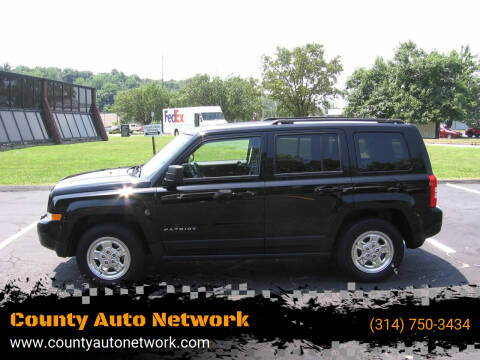 2016 Jeep Patriot for sale at County Auto Network in Ballwin MO