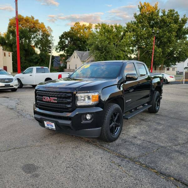 2016 GMC Canyon for sale at Bibian Brothers Auto Sales & Service in Joliet IL