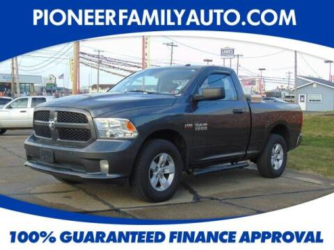 2017 RAM Ram Pickup 1500 for sale at Pioneer Family auto in Marietta OH