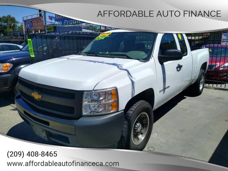 2012 Chevrolet Silverado 1500 for sale at Affordable Auto Finance in Modesto CA