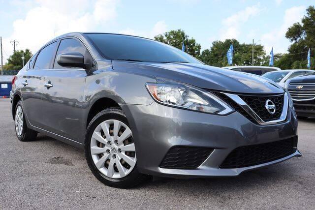 2017 Nissan Sentra for sale at OCEAN AUTO SALES in Miami FL