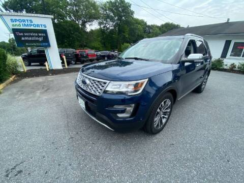 2017 Ford Explorer for sale at Sports & Imports in Pasadena MD