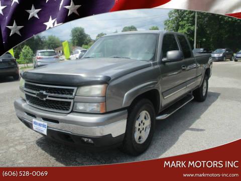 2007 Chevrolet Silverado 1500 Classic for sale at Mark Motors Inc in Gray KY