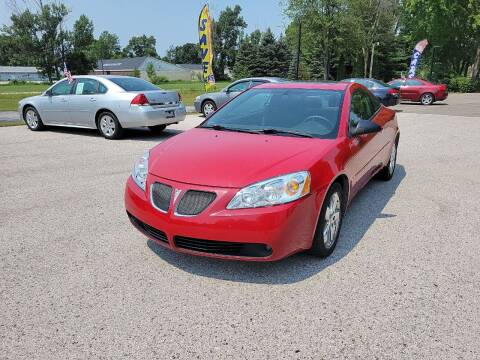 2006 Pontiac G6 for sale at Patriot Autos in Muskegon MI