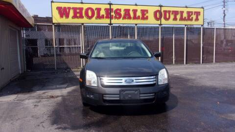 2006 Ford Fusion for sale at LONG BROTHERS CAR COMPANY in Cleveland OH