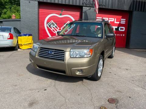 2008 Subaru Forester for sale at Apple Auto Sales Inc in Camillus NY