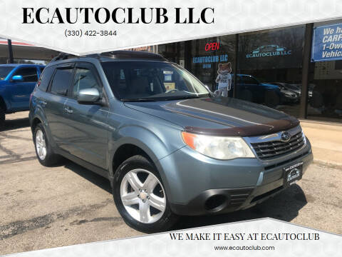 2010 Subaru Forester for sale at ECAUTOCLUB LLC in Kent OH