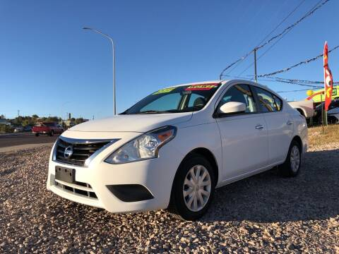 2017 Nissan Versa for sale at 1st Quality Motors LLC in Gallup NM