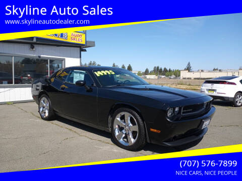 2013 Dodge Challenger for sale at Skyline Auto Sales in Santa Rosa CA