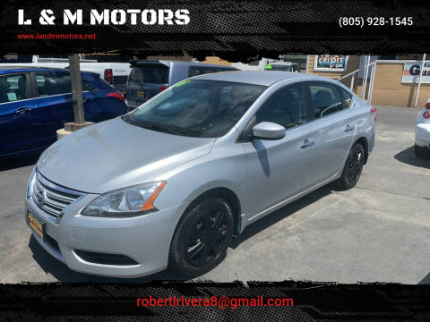 2015 Nissan Sentra for sale at L & M MOTORS in Santa Maria CA
