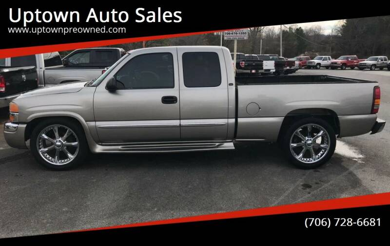 2003 GMC Sierra 1500 for sale at Uptown Auto Sales in Rome GA