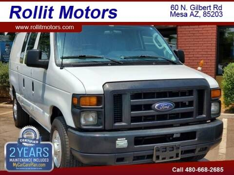 2010 Ford E-Series Cargo for sale at Rollit Motors in Mesa AZ