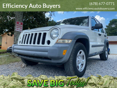 2005 Jeep Liberty for sale at Efficiency Auto Buyers in Milton GA