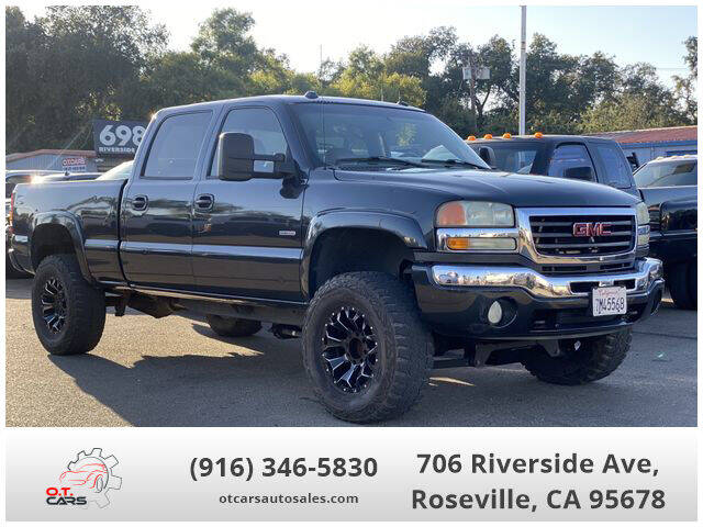 2004 GMC Sierra 2500HD for sale at OT CARS AUTO SALES in Roseville CA