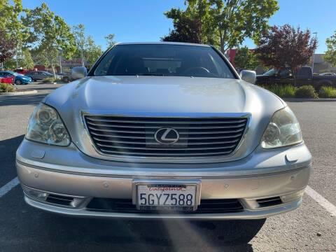 2004 Lexus LS 430 for sale at HAPA AUTO DEALERS in Santa Clara CA
