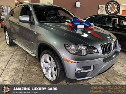 2013 BMW X6 for sale at Amazing Luxury Cars in Snellville GA