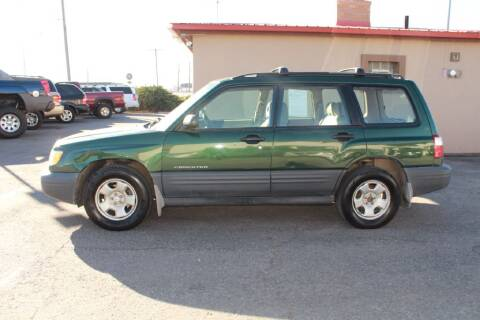 2002 Subaru Forester for sale at Epic Auto in Idaho Falls ID