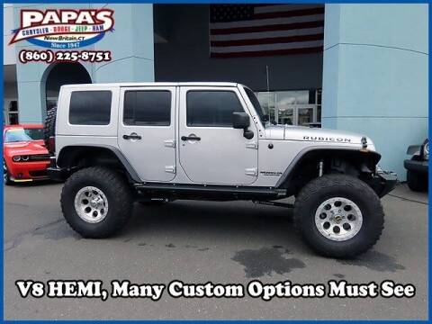 2010 Jeep Wrangler Unlimited for sale at Papas Chrysler Dodge Jeep Ram in New Britain CT