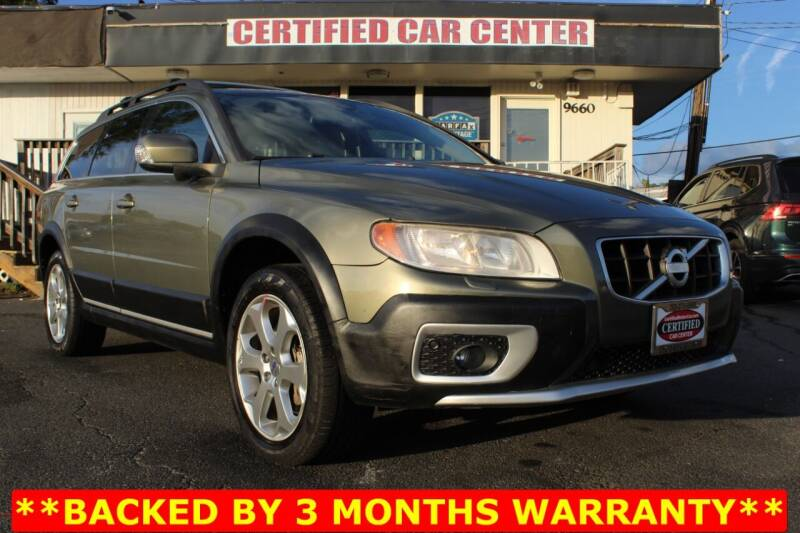 2010 Volvo XC70 for sale at CERTIFIED CAR CENTER in Fairfax VA
