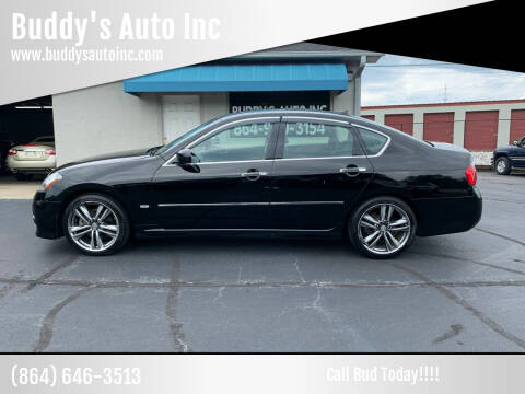 2008 Infiniti M35 for sale at Buddy's Auto Inc in Pendleton, SC