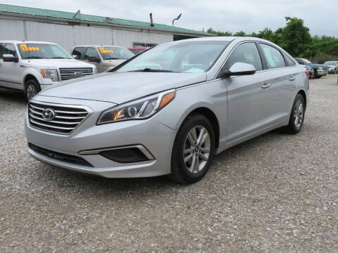 2017 Hyundai Sonata for sale at Low Cost Cars in Circleville OH