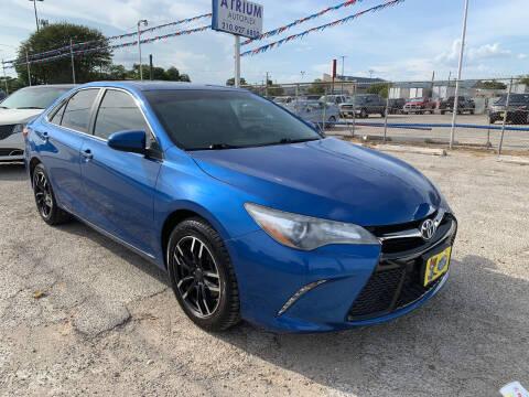 2016 Toyota Camry for sale at Atrium Autoplex in San Antonio TX