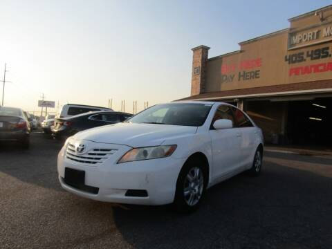 2007 Toyota Camry for sale at Import Motors in Bethany OK