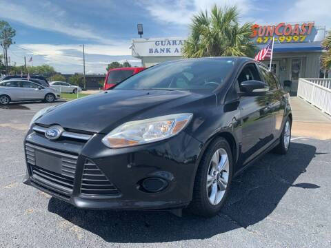 2013 Ford Focus for sale at Sun Coast City Auto Sales in Mobile AL