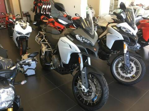 2018 Ducati Multistrada 1200 Touring for sale at Peninsula Motor Vehicle Group in Oakville Ontario NY