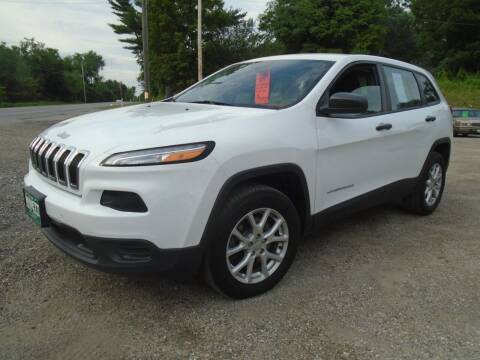 2014 Jeep Cherokee for sale at Wimett Trading Company in Leicester VT