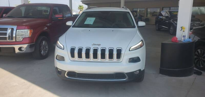 2015 Jeep Cherokee for sale at Carzz Motor Sports in Fountain Hills AZ