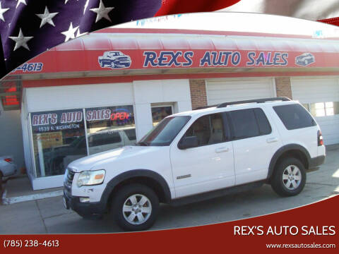 2007 Ford Explorer for sale at Rex's Auto Sales in Junction City KS