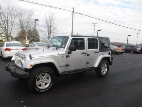 2007 Jeep Wrangler Unlimited for sale at FINAL DRIVE AUTO SALES INC in Shippensburg PA