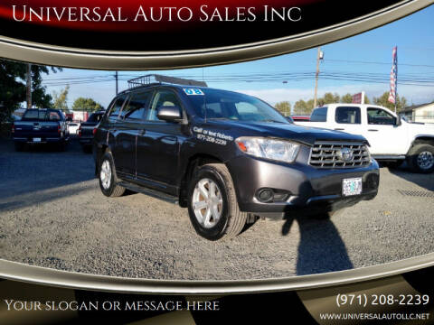 2008 Toyota Highlander for sale at Universal Auto Sales Inc in Salem OR