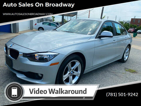 2014 BMW 3 Series for sale at Auto Sales on Broadway in Norwood MA