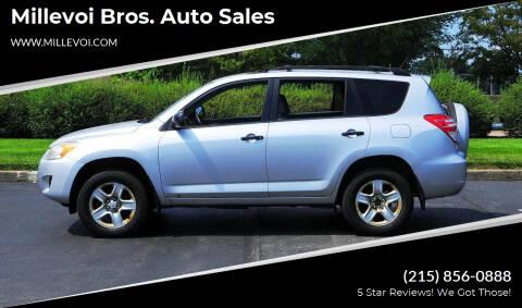 2010 Toyota RAV4 for sale at Millevoi Bros. Auto Sales in Philadelphia PA