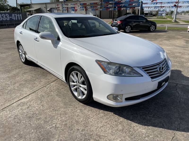 2011 Lexus ES 350 for sale at AMERICAN AUTO COMPANY in Beaumont TX