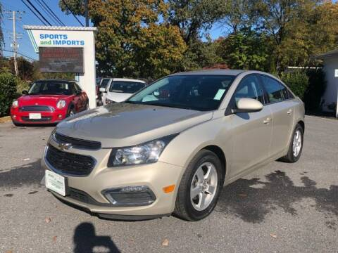2016 Chevrolet Cruze Limited for sale at Sports & Imports in Pasadena MD